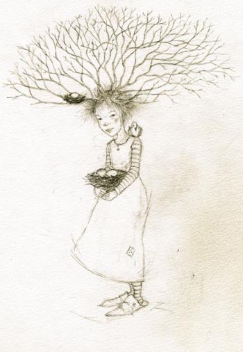 Devon tree child