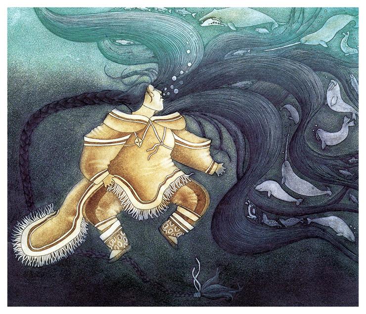 Sedna, the Sea Goddess by Germaine Arnatauyck