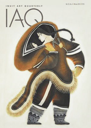 Inuit Art Quarterly cover by Germaine Arnatauyck