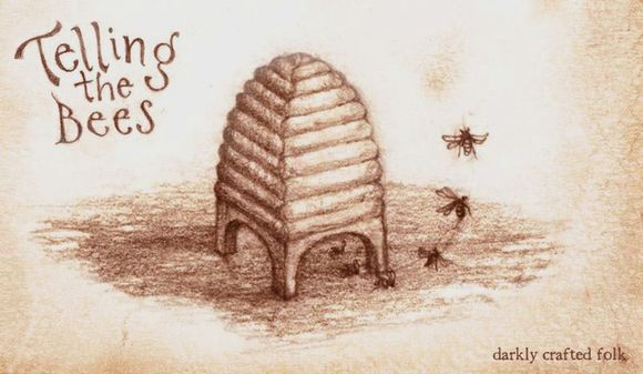 Telling the Bees, art by Rima Staines
