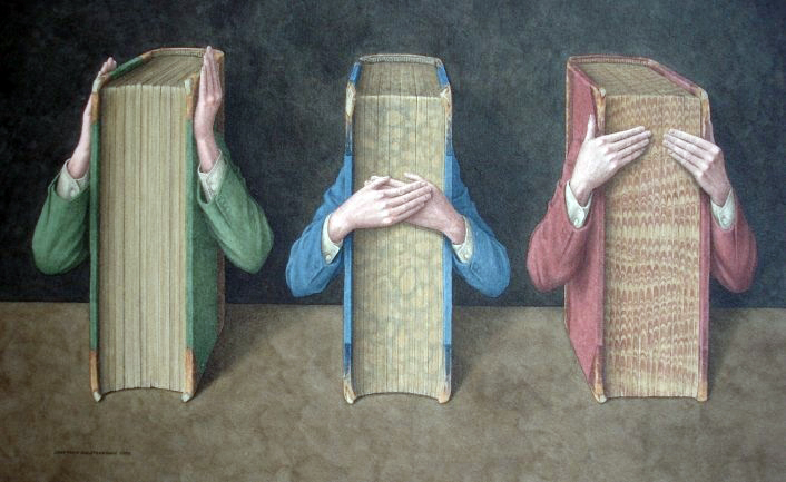 Three Wise Books by Jonathan Wolstenholme
