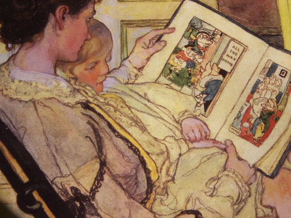 Five Little Pigs by Elizabeth Shippen Green