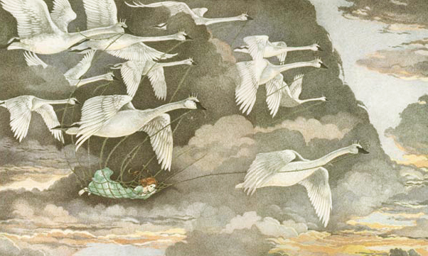 Wild Swans by Susan Jeffers