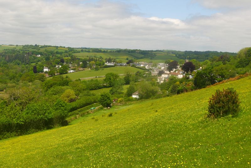 Chagford in the hills