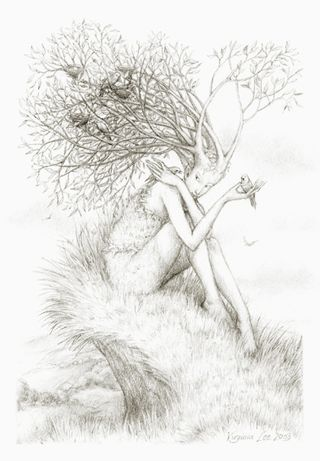 Tree Nymph by Virigina Lee
