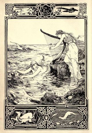 An illustration by John D. Batten for Celtic Fairy Tales