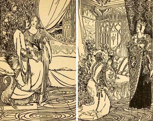 The Ballad of Fair Rosamond by George Wharton Edwards