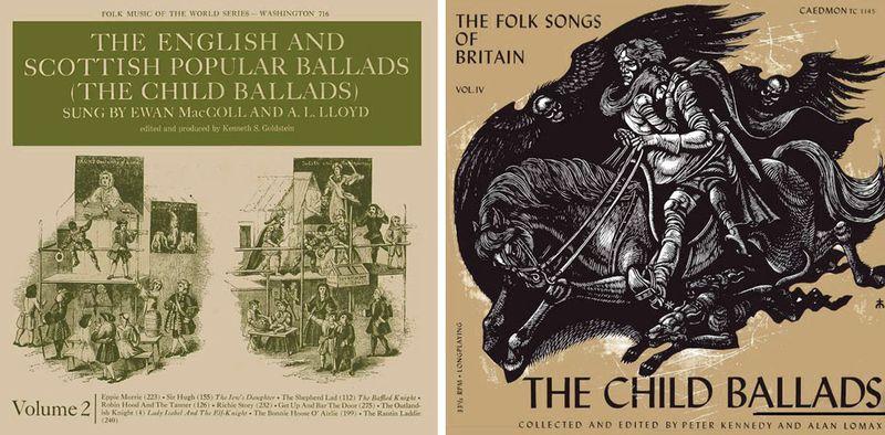 Recordings of Child Ballads