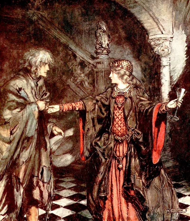 Hynd Horn illustrated by Arthur Rackham