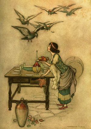 The Seven Doves by Warwick Goble