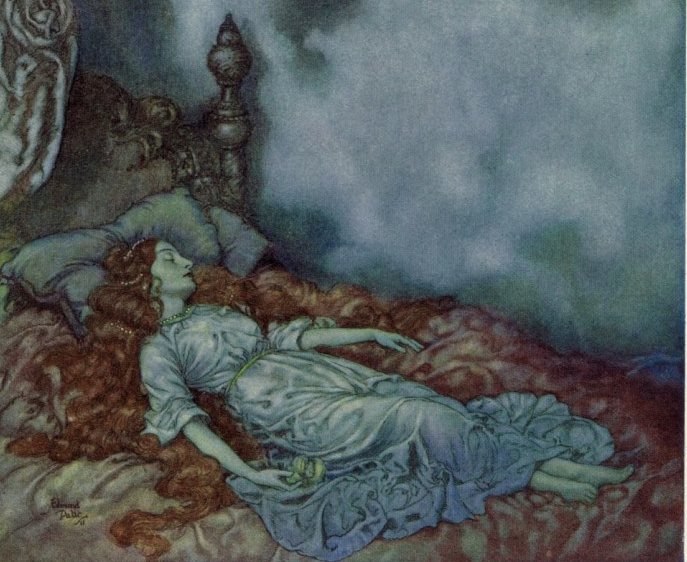 Leonore by Edmund Dulac