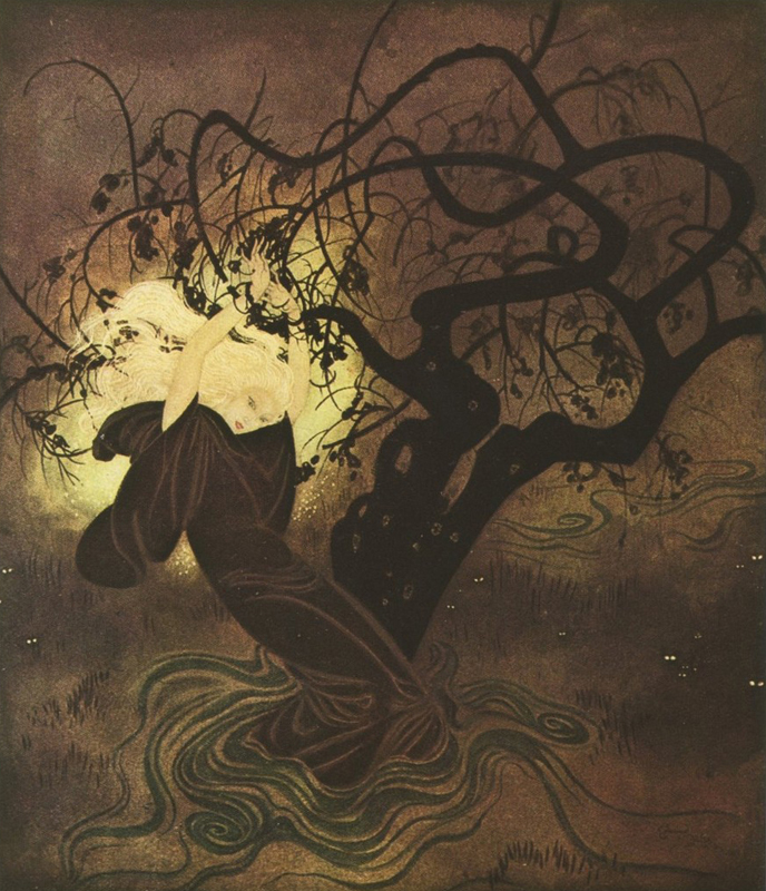 The Buried Moon by Edmund Dulac