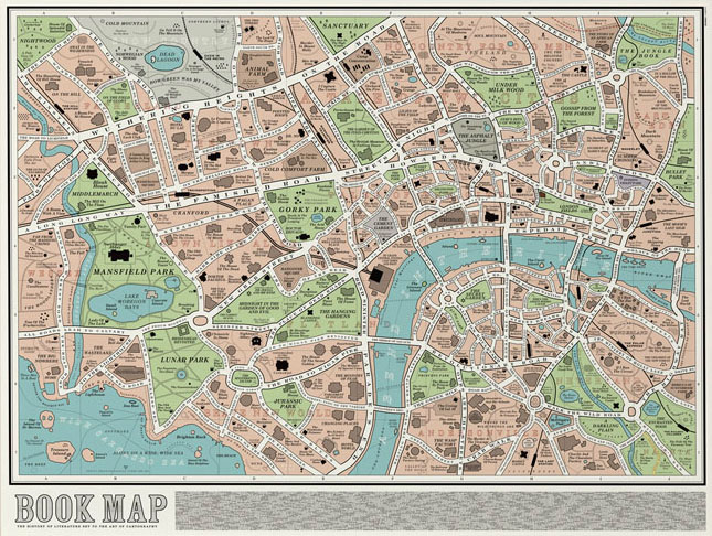 The London Book Map