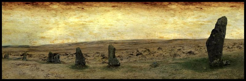 Scorhill Stone Circle, Dartmoor, Devon by Stu Jenks