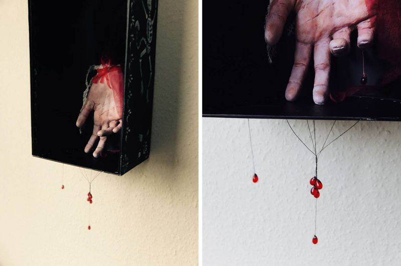 Her Hand (sculpture) by Nomi McLeod