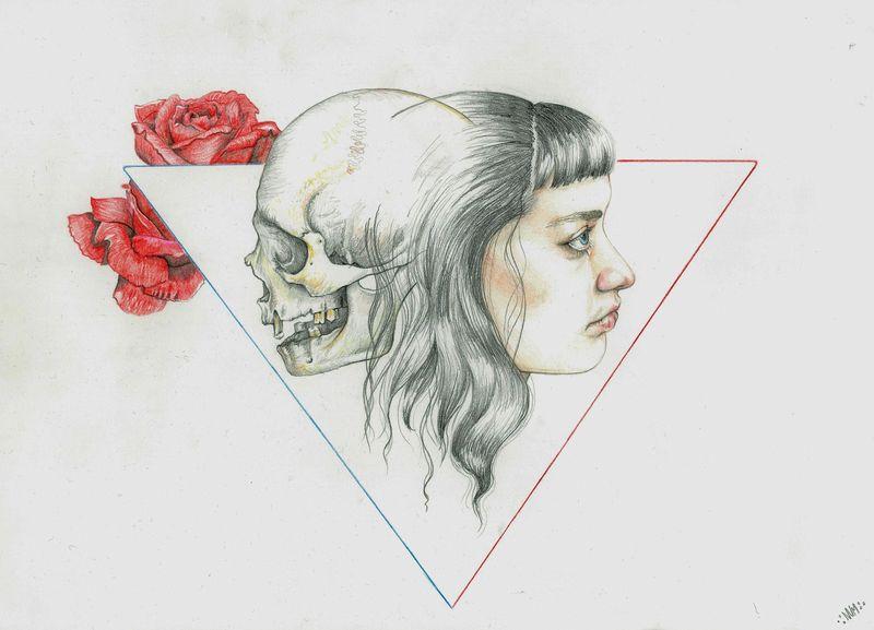Life Vs Death by Nomi McLeod