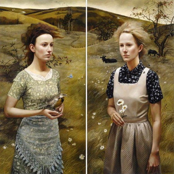 Rural Sisters by Andrew Kowch