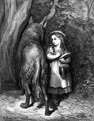 Little Red Riding Hood by Gustave Dore