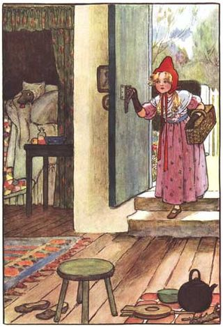 Little Red Riding Hood by Millicent Sowerby