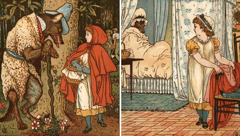 Little Red Riding Hood by Walter Crane