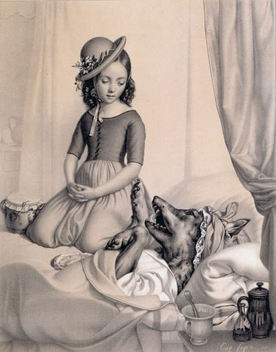 Little Red Riding Hood, artist unknown