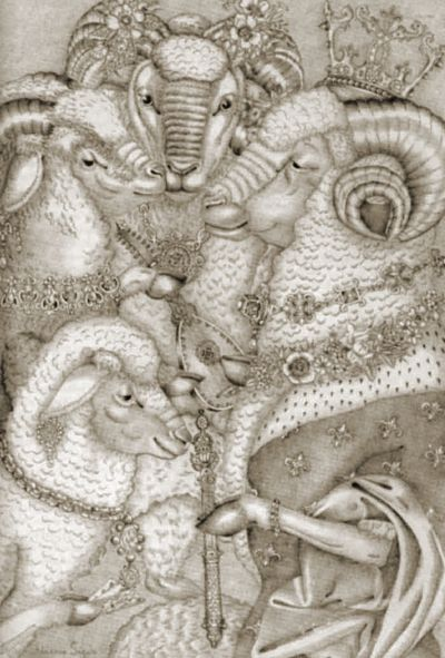 The Royal Ram by Adrienne Segur