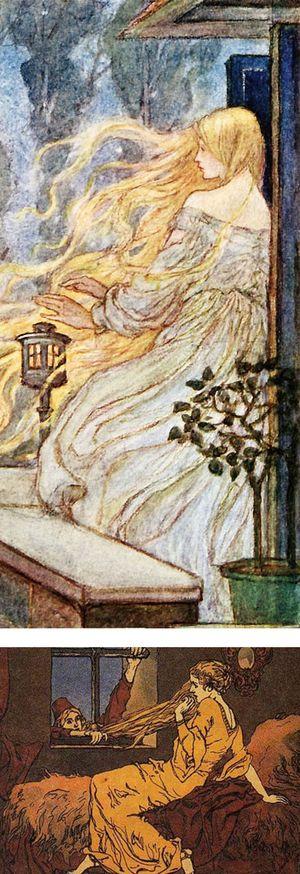 Rapunzel by Florence Harrison & Ernest Lierbermann