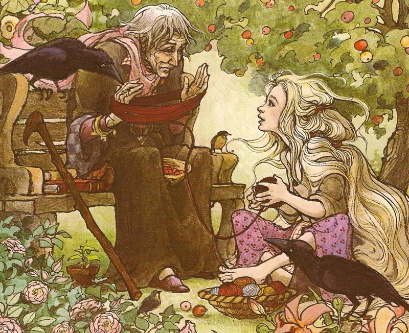 The blind prince and Rapunzel by Trina Schart Hyman