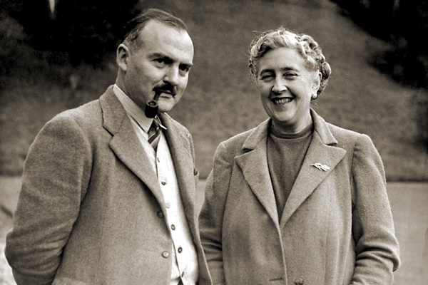 Agatha and her lovely second husband, Max Mallowan