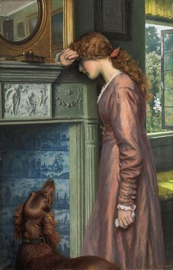 A Passing Cloud by Arthur Hughes