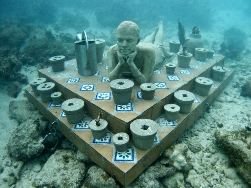 copyright by Jason deCaires Taylor