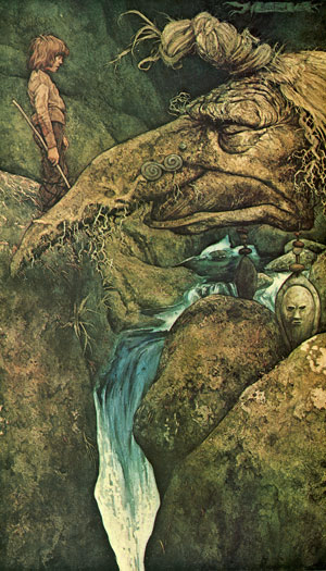 River Dart troll by Brian Froud