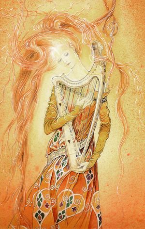 Dreamharp by Marja Lee Kruyt
