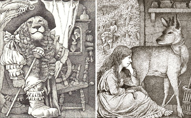 The 12 Huntsman & Brother and Sister by Maurice Sendak