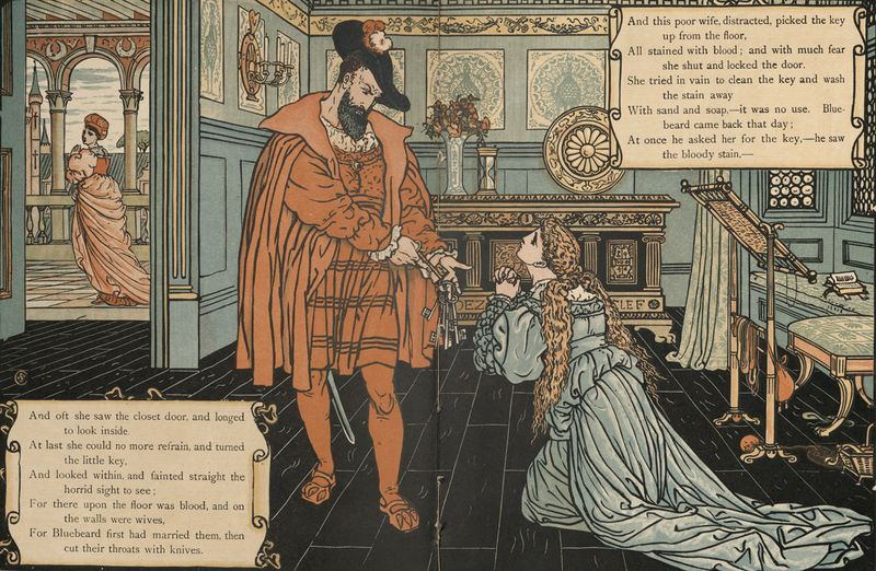 Bluebeard by Walter Crane