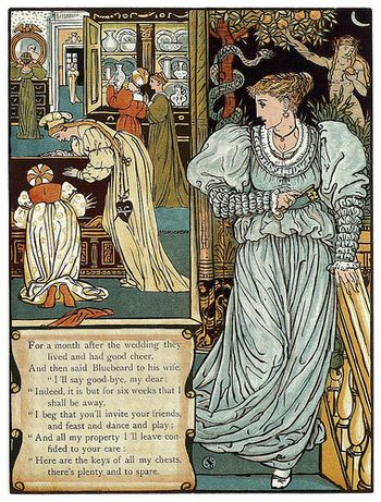 Bluebeard by Walter Crane