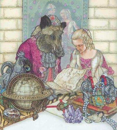 Beauty & the Beast by Jan Brett
