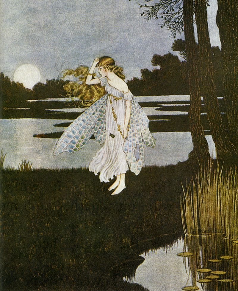 Fairy by Ida Rentoul Outhwaite