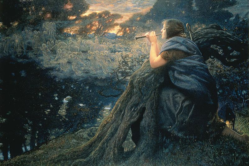 Twilight Fantasy by Edward Robert Hughes