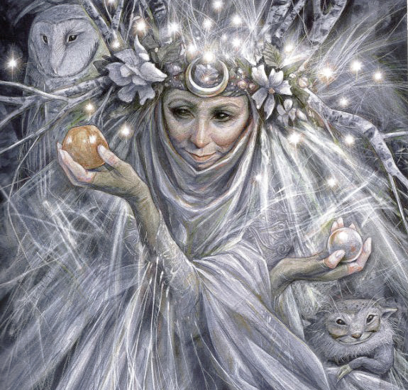 Faery Godmother by Brian Froud