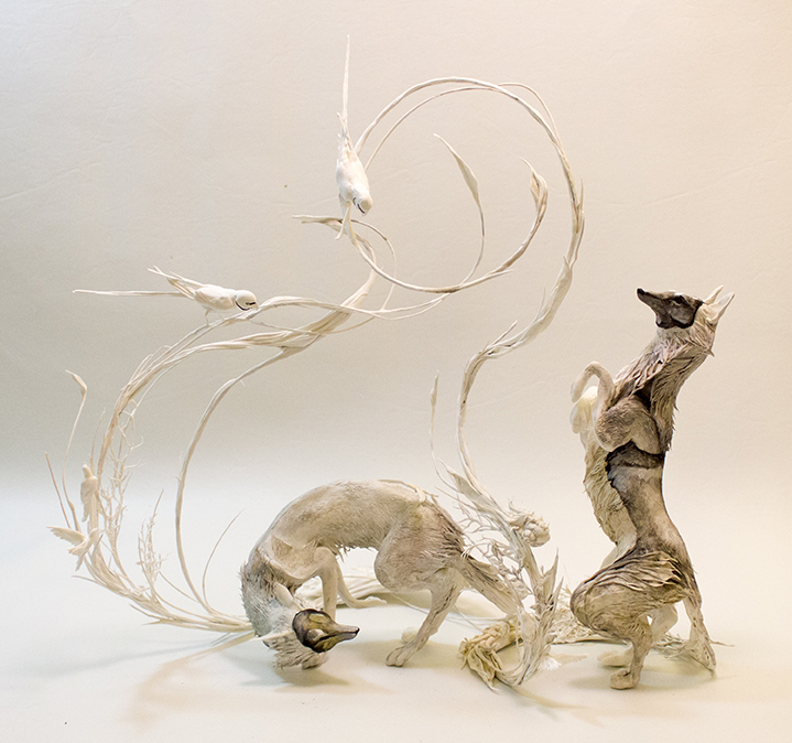 Shadow Foxes by Ellen Jewett