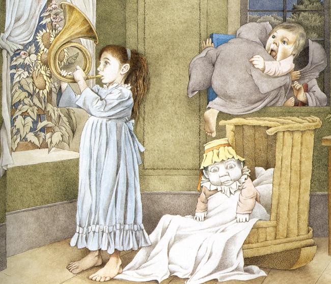 The Goblin Child by Maurice Sendak