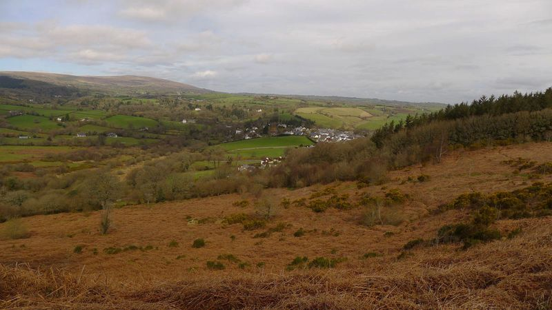 Chagford viewed from Nattadon Hill