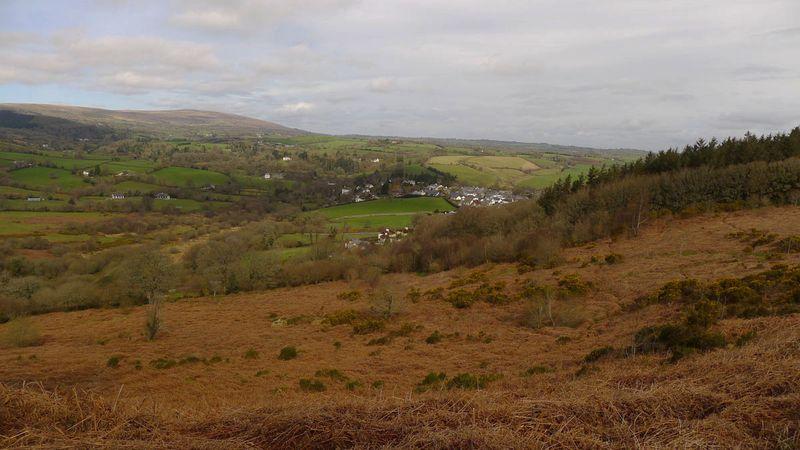 Chagford viewed from Nattadon Hill