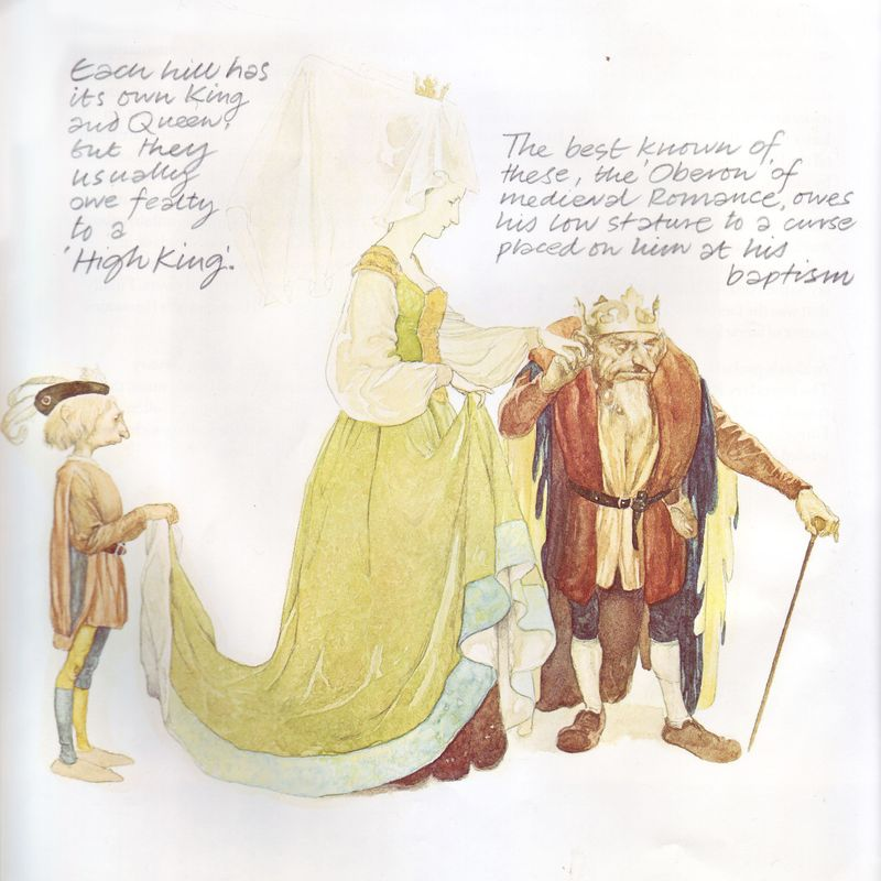 Faery King & Queen by Alan Lee