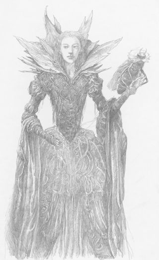 Faery Queen by Alan Lee