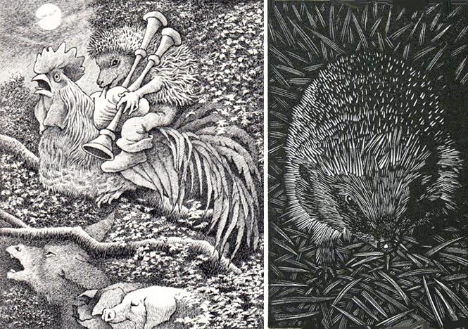 Hedgehog art