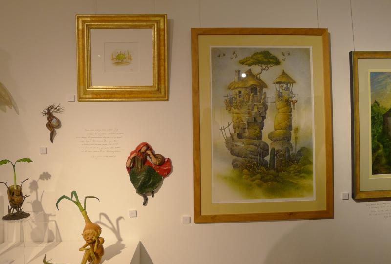 Works by Virginia Lee and David Wyatt