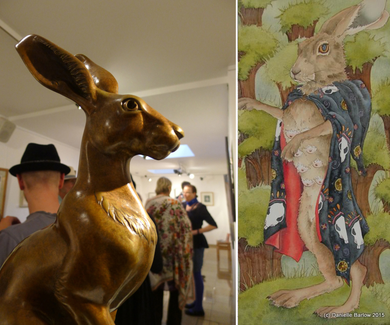 Hares by Paul Kidby and Danielle Barlow