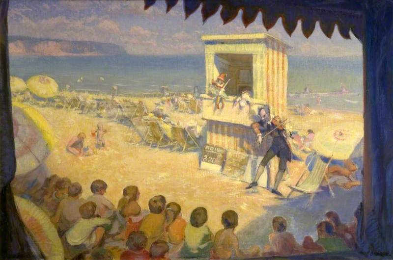 Punch and Judy by Percival Arthur Wise